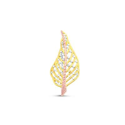 Brošňa zo žltého zlata